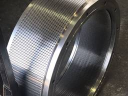 Реставрация матриц пресс-грануляторов