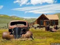 Реставрация автомобиля. Абразивная очистка, цинкование
