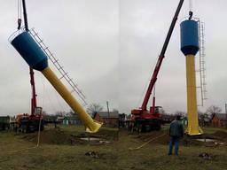Реставрація, монтаж, підключення водонапірної башні Рожновського