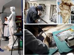 Реставрация скульптур, картин, памятников архитектуры, фасад