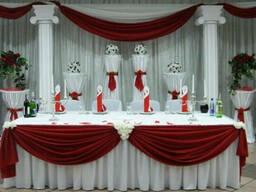 Ресторанный текстиль, оформление залов. Заказ на пошив
