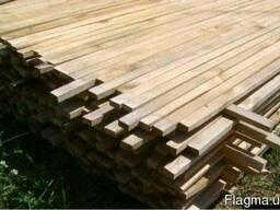 Рейка деревянная. Пиломатериалы.