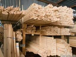 Рейка деревянная 40 на 20 на 3м,сухая,строганная .Недорого!