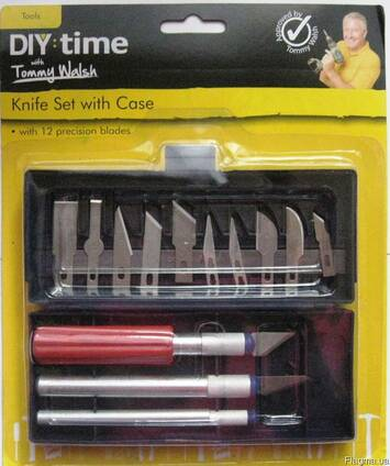 Резцы (ножи) для резьбы по дереву, пластику, гипсу.