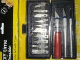 Резцы (ножи) для резьбы по дереву, пластику, гипсу. - фото 5