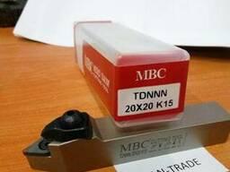 Резец проходной TDNNN-20x20-K15 MBC