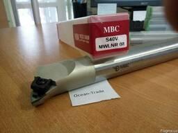Резец расточной с мех. креплением т/с пластин S40V-MWLNR-08