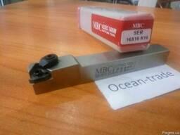 Резец резьбовой с мех креплением пластин MBC SER 16х16 K16