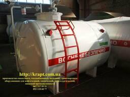 Резервуар для хранения керосина, собственная АЗС