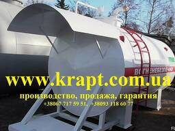 Резервуар для Мини АЗС 16 куб.м, двустенный