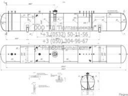 Резервуар/емкость объемом 200м3 для СУГ