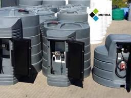 Сертифікований резервуар Metria 5000л для дизельного палива Польща Двустінний