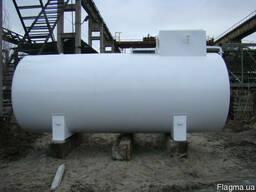 Резервуары для хранения и раздачи дизеля ГСМ