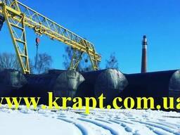 Резервуары для хранения нефтепродуктов подземные