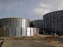 Резервуары для водоподготовки и сточных вод - фото 1