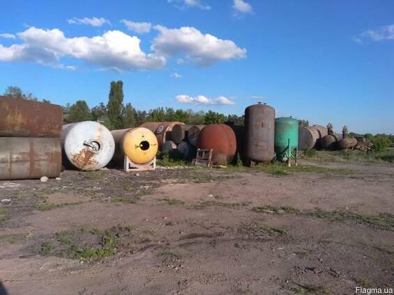 Резервуары металлические, цистерны, бочки и ёмкости от 1м3