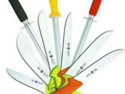 Режущий инструмент (ножи), вспомогательный инвентарь для мя