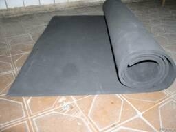Губчатая (пористая) резиновая пластина техническая