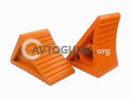 Резиновая упорная колодка с добавкой силиконовой резины