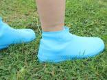 Резиновые бахилы на обувь от дождя - фото 7