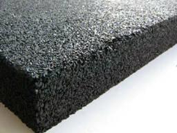 Резиновые монолитные плиты из вулканизированной резины