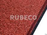 Резиновые плиты 50см*50м*3см. 580 грн. в наличии 100м2 - фото 3