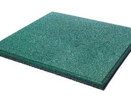 Резиновые плиты террасные , 50 см х 50 см, толщина 30 мм, з