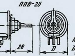 Резистор ППБ-25