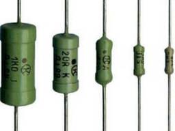 Резисторы выводные металлопленочные типа С2-33