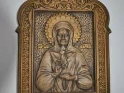Резные иконы, картины, сувениры из дуба, доставка по Украине
