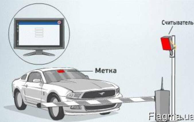 RFID шлагбаумы и ворота установка в Одессе и области