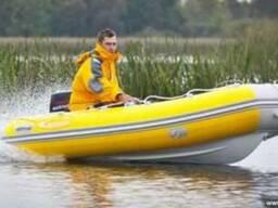 Риб лодка надувная с пласт днищем Captain 330 в продаже,
