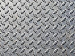 Лист рифленый стальной, 1500х6000х3 мм