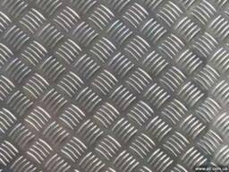 Рифленые алюминиевый листы Квинтет Чечевица АДОН