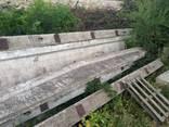 Ригеля, фермы ж. б. 12 м. двускатные б. у. - фото 1