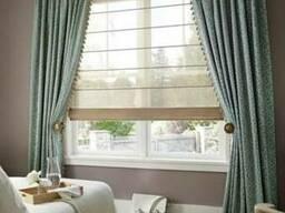 Римские шторы. Красивые практичные шторы на окна.