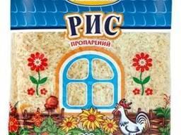 Рис длиннозерный шлифованный пропаренный 0,5 кг