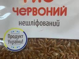 Рис нешлифованный красный (Украина)