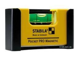 Рівень міні магнітний Stabila Pocket PRo Magnetic 7 х 2 х 4 см