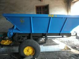 РМГ-4, РУМ-4 разбрасыватель минеральных удобрений, песка