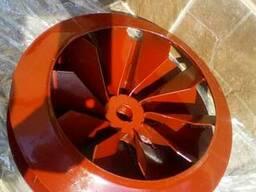Робоче колесо ОЗС-25. 01. 000 вентилятора БЦС-25 на 10 лопаток