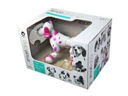 Робот-собака радиоуправляемый Happy Cow Smart Dog (розовый)