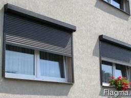 Ролетні захисні системи, монтаж на вікна, двері, гараж. Київська область