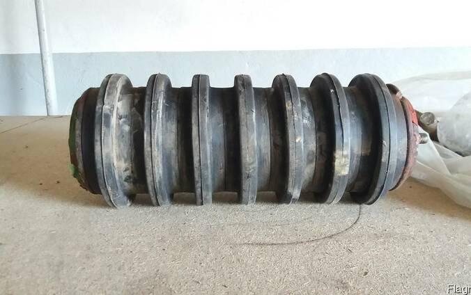 Ролик конвейерный резиновый 127х460
