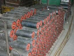 Ролики конвейерные Ф152 х 370мм, новые