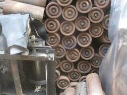 Ролики транспортерные металлические 315мм ф118мм дешево