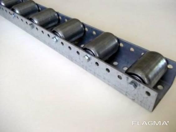Роликовая дорожка (шина, планка) тип 720/234/3мм гравитационные палетные стеллажи