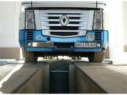 Роликовый стенд для грузовых автомобилей HF 13/30