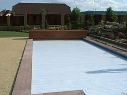Роллеты для бассейнов 3х10. Строительство бассейнов