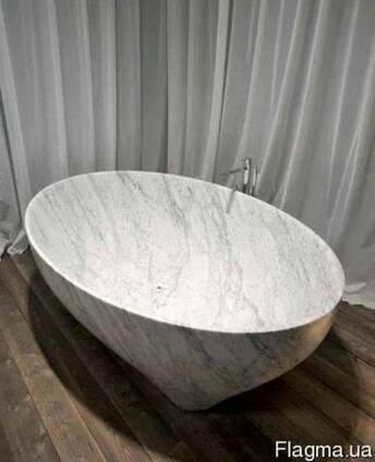 Роскошные ванны ручной работы из мрамора, оникса и гранита